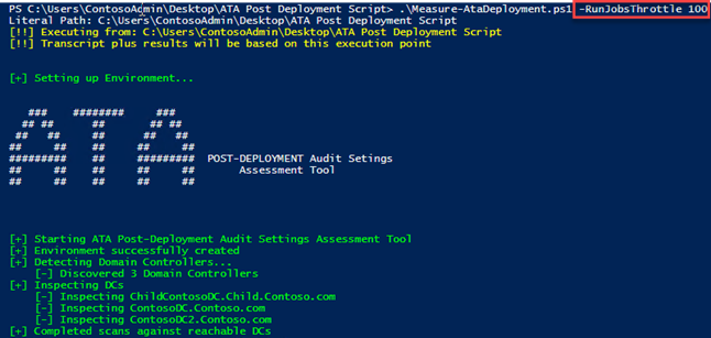 Azure ATP Advanced Audit Policies